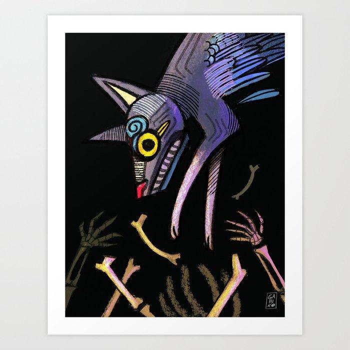 Xolotl Art Print by gahiko