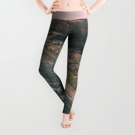 Coastal Sunset - Pink Sky Leggings