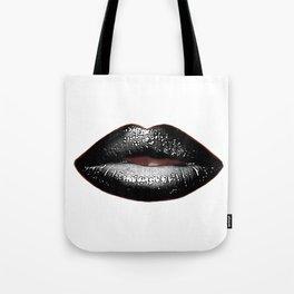 Black Goth Lips SWAK A820 Tote Bag