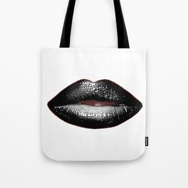 Black Goth Lips SWAK A820 Tote Bag
