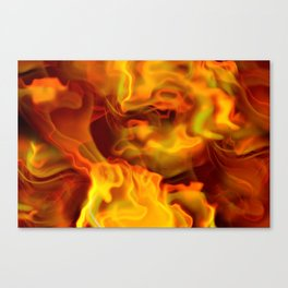 hot space Canvas Print