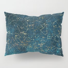 Under Constellations Pillow Sham