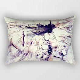 Bleak world of absent law Rectangular Pillow
