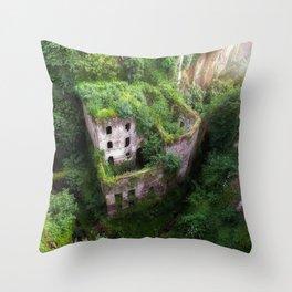 Sorrento ruins Italy Throw Pillow