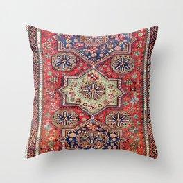 Kuba Sumakh East Caucasus Antique Rug Throw Pillow