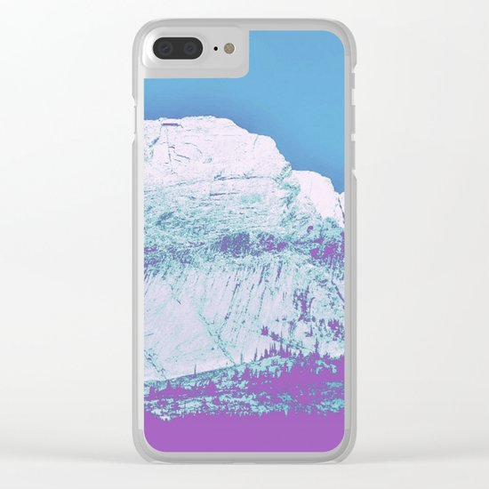 Mountain unexplained Clear iPhone Case