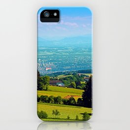 Urban and rural all together iPhone Case