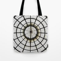 milan Tote Bags featuring Milan by Alev Takil