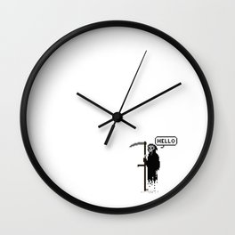 Mr. Death Wall Clock