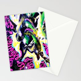 Infinite II Painting by Spin180 Stationery Cards