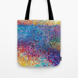 Vibrant Meadow Tote Bag