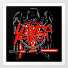 Resistance Slayer Art Print