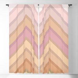 Pastel Peaks Blackout Curtain