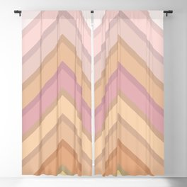 Pastel Peaks Blackout Curtain
