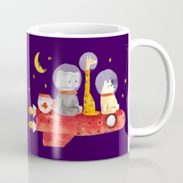 Let's All Go To Mars Coffee Mug