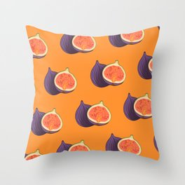 Fig Autumn Colour Trends  Throw Pillow