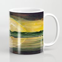 nirvana Mugs featuring Nirvana by Lily Nava Gallery Fine Art and Design