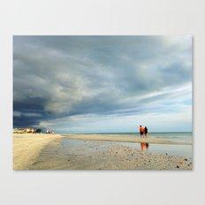 Walking the Storm Canvas Print