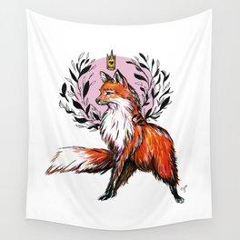 Regal Fox Wall Tapestry