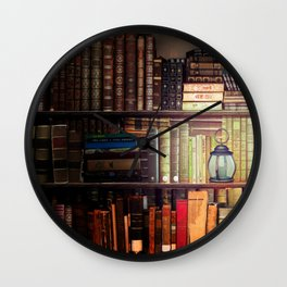 The Cozy Cottage Reading Nook Wall Clock
