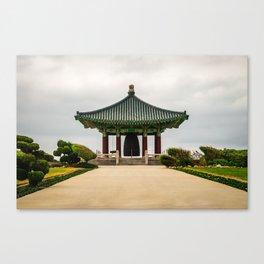 Korean Bell of Friendship Canvas Print