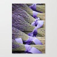 lavender Canvas Prints featuring Lavender by Elysa Darling
