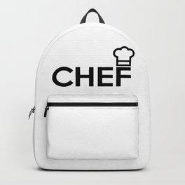 CHEF Logo Backpack