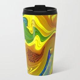 Sunflower Swirl Travel Mug