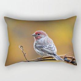 Fall Finch Rectangular Pillow