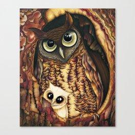 Owl's Hole Canvas Print