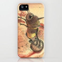 une abeille jolie iPhone Case
