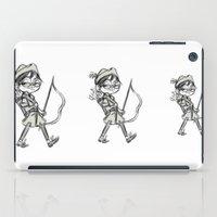 robin hood iPad Cases featuring Robina Hood by Elizabet Vukovic