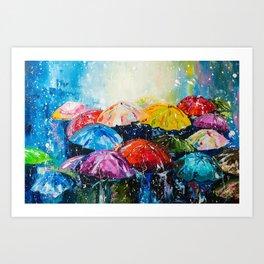 RAIN,RAIN,RAIN... Art Print