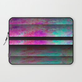 Turquoise Color Blinds Laptop Sleeve