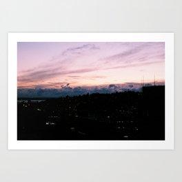 Pink Night Art Print