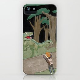 Raptor Trouble Colorized iPhone Case