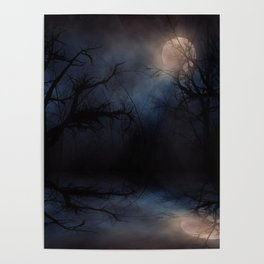 Haunted Forest Poster