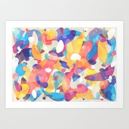 Chaotic Construction Art Print