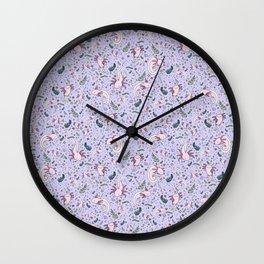 Axolotl Pattern Wall Clock