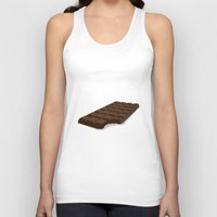 chocolate Tank Tops featuring Chocolate by David Pires