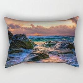 Sunset Storm Rectangular Pillow