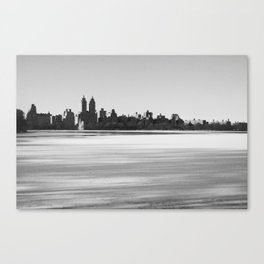 New York Snowscape Canvas Print