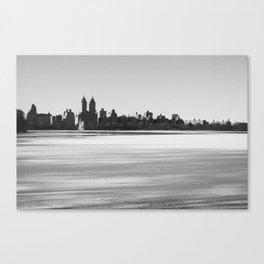 New York Snowscape Canvas Print