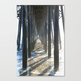 Point of View at Oceanside Pier Canvas Print