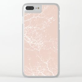 ROSE BRANCHES Clear iPhone Case