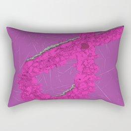 Another Pink Ribbon Rectangular Pillow