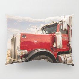 Red truck California Pillow Sham