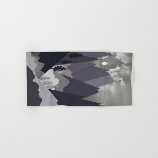 Night Mountains No. 24 Hand & Bath Towel