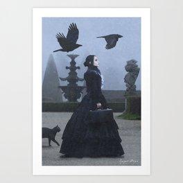 Lady Charlotte Nightshade Art Print