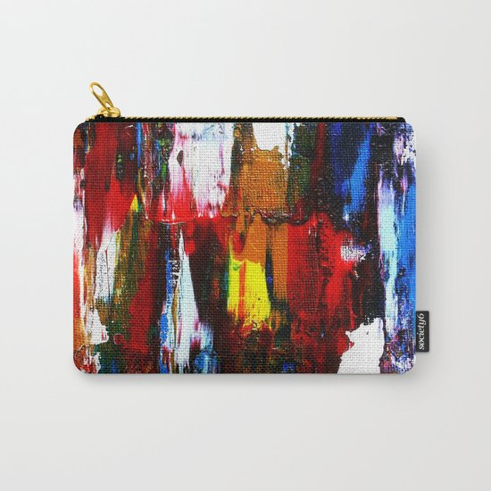 Coney Island (Part 2) acrylics on stretched canvas  Carry-All Pouch